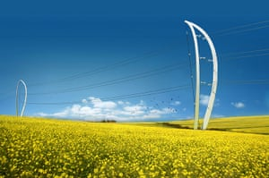 Electricity Pylons: designs for a new generation of pylon