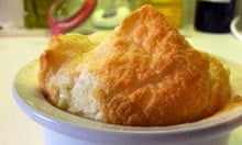 Tristan Welch cheese souffle