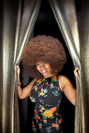 Guinness world records: Aevin Dugas from New Orleans, USA with the largest natural afro