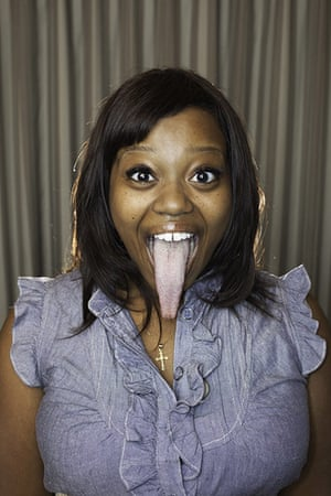 Guinness world records: Chanel Tapper from California, USA, is revealed to have the longest tongue