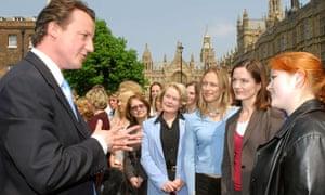 David Cameron meeting women councillors