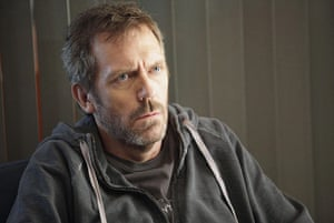 Guinness world records: Hugh Laurie as Dr Greg House
