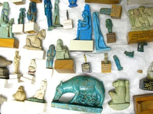 Grayson Perry: Egyptian statuettes by Grayson Perry