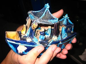 Grayson Perry: china boat by Grayson Perry