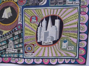 Grayson Perry: tapestry by Grayson Perry