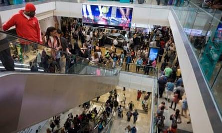 Westfield shopping mall Stratford