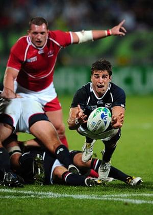 rugby: Russia v USA - IRB RWC 2011 Match 12