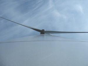 Weekend Readers' pictures: Wind turbine by Scott Greenhalgh
