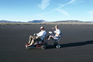 Weekend Readers' pictures: A couple on a mobility scooter by Nick Dawe