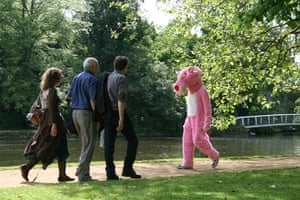 Weekend Readers' pictures: pink panther costume by Jacqueline Knights