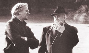 Le Carre with Alec Guinness