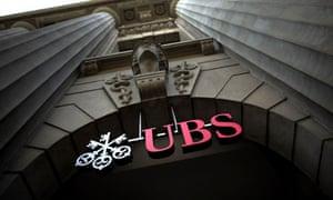 UBS entrance
