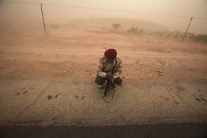 24 hours in pictures: Bani Walid, Libya: An anti-Gaddafi fighter
