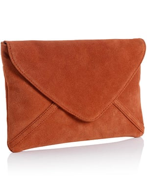 New Season under £50: Orange Clutch