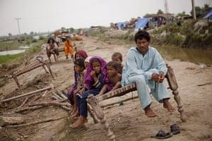 Floods in Pakistan: monsoons bring more misery