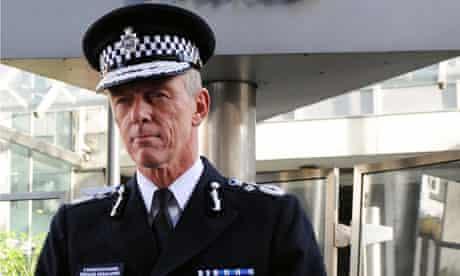 Bernard Hogan-Howe, the new Commissioner of the Metropolitan Police