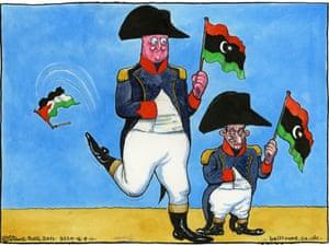 16.09.11: Steve Bell on Libya