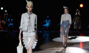 The Marc Jacobs show at New York fashion week