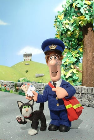 Postman Pat is 30: Postman Pat and his black and white