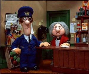 Postman Pat is 30: Pat and shopkeeper