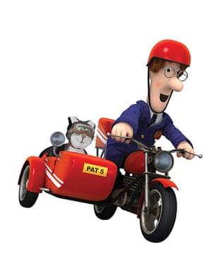 Postman Pat is 30: bike and side-car