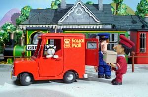 Postman Pat is 30: Train station