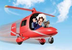 Postman Pat is 30: Pat and Jess in Helicopter