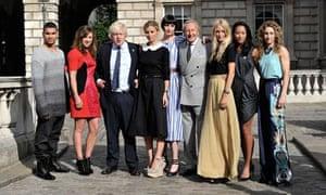london fashion week boris johnson