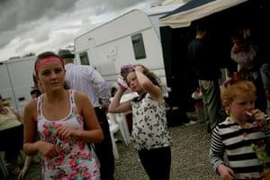 Dale Farm: Celebrating Kaitlin McCarthy's first birthday, September 2011