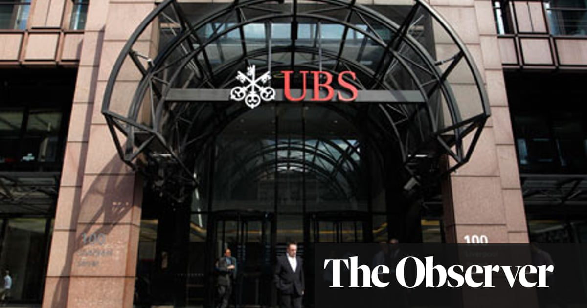 UBS, the big bank that can't stay out of trouble, shakes the