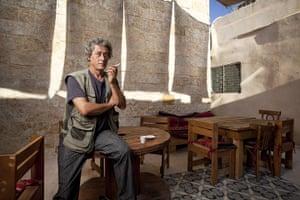 Levene West Bank: Mazen Saadeh, 51, lives in Bir Zeit, West Bank
