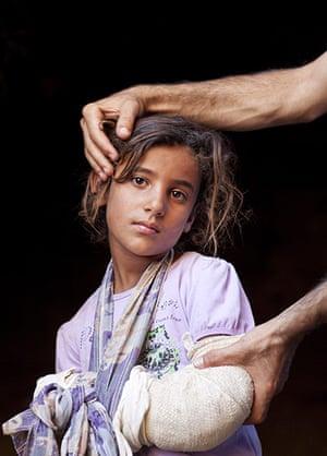 Levene West Bank: Ba'araa, 9, in Al Fakheet