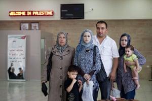 Levene West Bank: Fadi Owaiwa came to the Istaraha to pick up his family