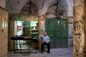 Levene West Bank: Hamdi Dwaik owns a small bakery in the old city of Hebron