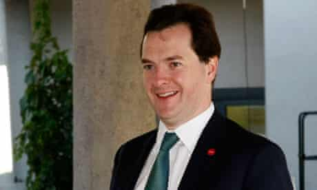 George Osborne arrives for an informal meeting of European finance ministers in Wroclaw, Poland