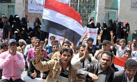 Anti-government protests in Yemen