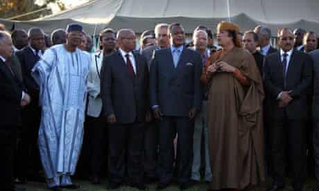 african union gaddafi