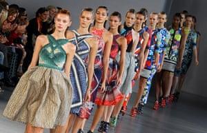 London Fashion Week: Peter Pilotto show at London Fashion Week