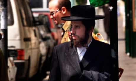 An ultra-Orthodox man in Mea'Shearim