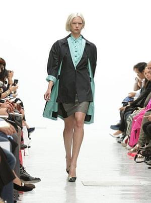 Pringle: Pringle Of Scotland Catwalk - London Fashion Week