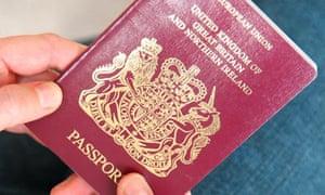 A UK passport