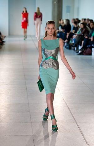 London Fashion Week: Antonio Beradi Spring/Summer 2012  London Fashion Week