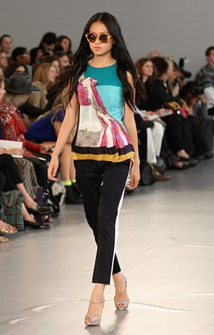 London Fashion Week: Michael van der Ham Spring/Summer 2012