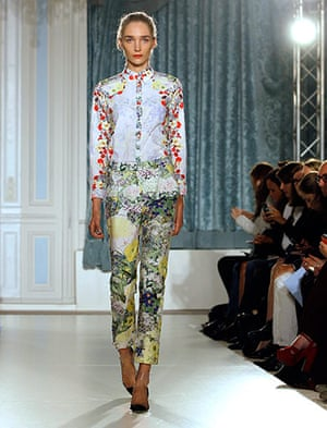 London Fashion Week: Erdem Spring/Summer 2012
