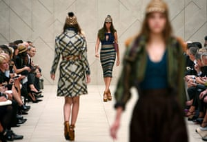London Fashion Week: Burberry Prosum Spring/Summer 2012