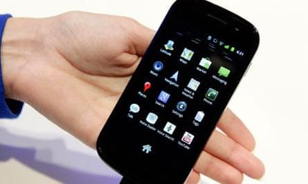 Samsung's Nexus S mobile phone