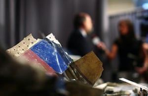 September 11 exhibition: A twisted piece of the fuselage of United Flight 93