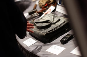 September 11 exhibition: Items that were recovered from the site of the World Trade Centre