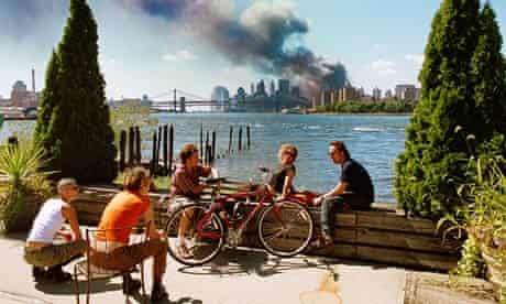 The meaning of 9/11's most controversial photo   September 11 2001   The Guardian