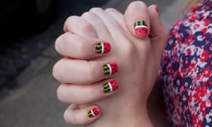 Nail art's brilliance dazzles at exhibition   Fashion   The